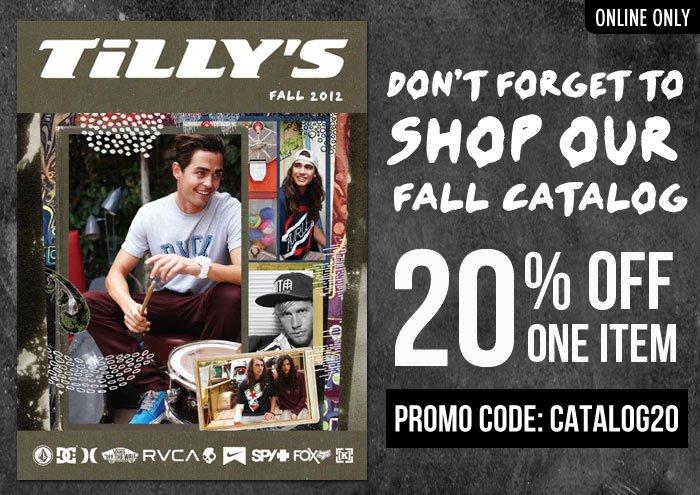 Tillys coupon codes