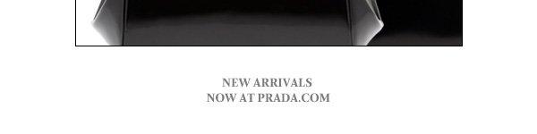 PRADA New Arrivals