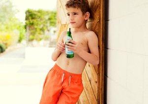 $12 Boy's Designer Swim Trunks