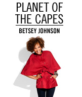 Planet of the Capes. Betsey Johnson.