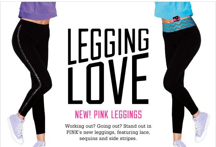 LEGGING LOVE. NEW! PINK LEGGINGS