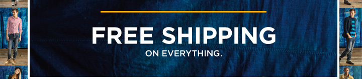 Free Shipping | On Everything