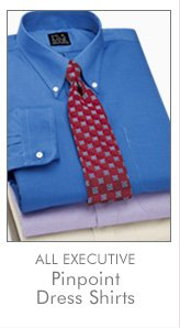 All Executive Pinpoint Dress Shirts