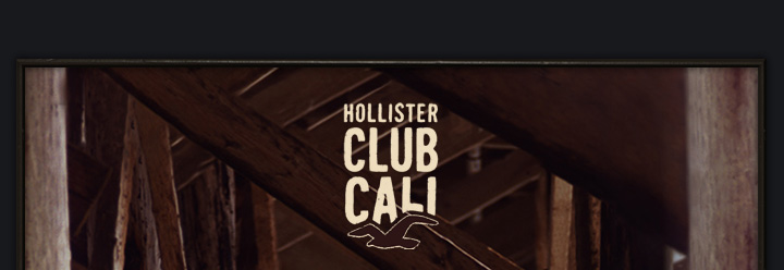 HOLLISTER CLUB CALI