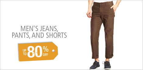 Men's Jeans, Pants & Shorts