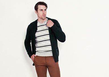 Shop Stripes & Solids ft. Jordan Craig