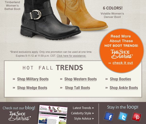 New boots from Timberland + Volatile!