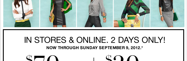 2 Days Only! Use this coupon and Save! Valid in stores & online