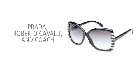 Prada, Roberto Cavalli & Coach