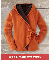 Wrap It Up Sweater >