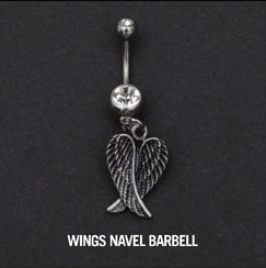 WINGS NAVEL BARBELL