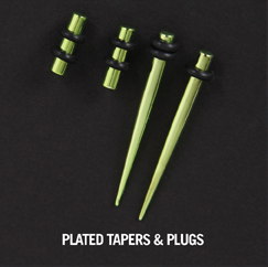 PLATED TAPERS & PLUGS