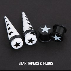 STAR TAPERS & PLUGS