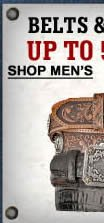 Men's Belts and Buckles upto 50% off