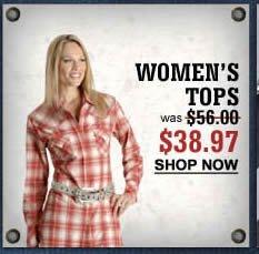 Women's Tops $38.97