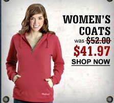 Women's Coats $41.97
