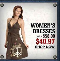 Women's Dresses $40.97