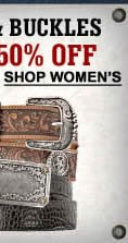 Women's Belts and Buckles Upto 50% off