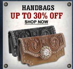 Handbags upto 30%