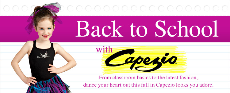 Back to School with Capezio!