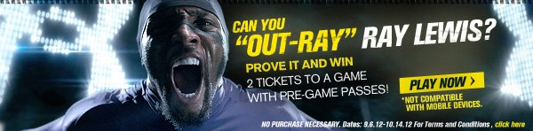 CAN YOU OUT-RAY RAY LEWIS?