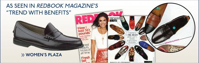 "As Seen in RedBook Magazine's ""Trend with Benefits""