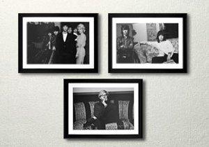 Vintage Celebrity Photography Prints
