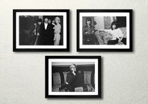 Vintage Celebrity Photography Prints