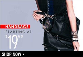 Handbags Starting at $19.80 - Shop Now