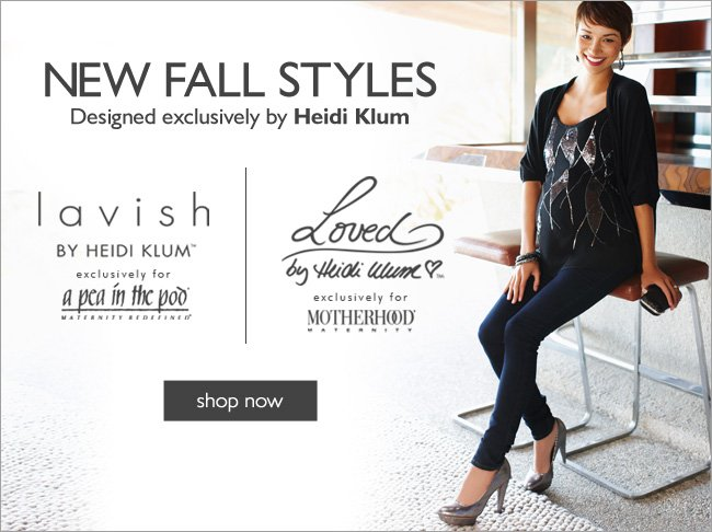 Loved and Lavish - Heidi Klum Pregnancy & Maternity Clothes