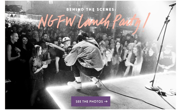 Behind The Scenes: NGFW Launch Party
