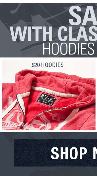 Save With Classic Looks Hoodies & Denim