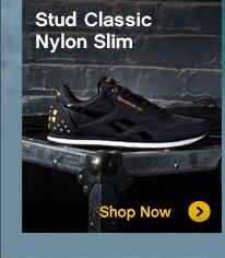 Stud Classic Nylon Slim | Shop Now