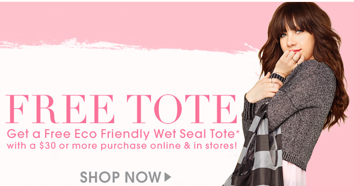 Shop Now - Free Tote With $30+ Purchase