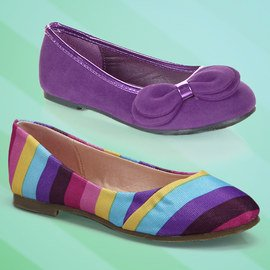 Step in Style: Girls' Flats