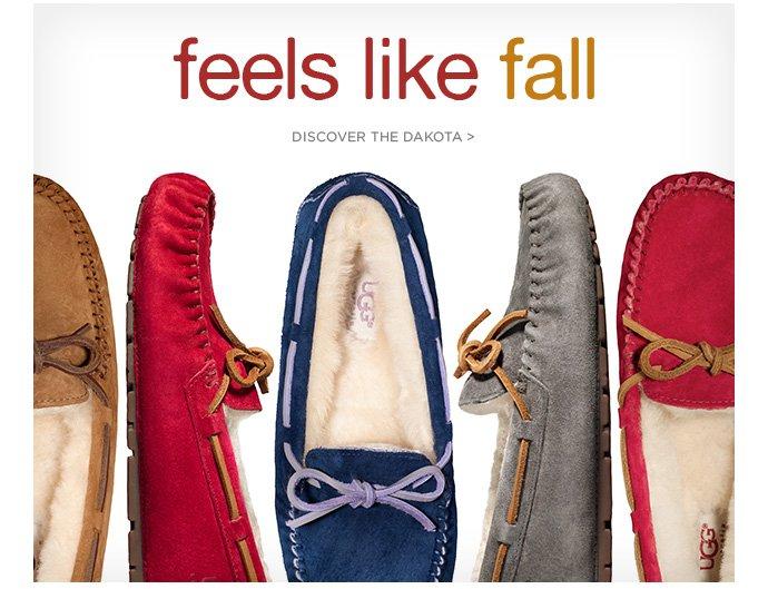 Feels like fall. Discover the Dakota