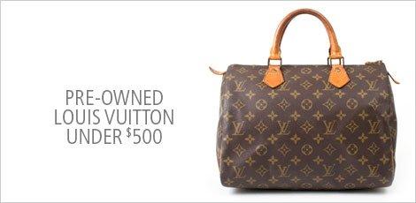 Pre-Owned Louis Vuitton Under 500