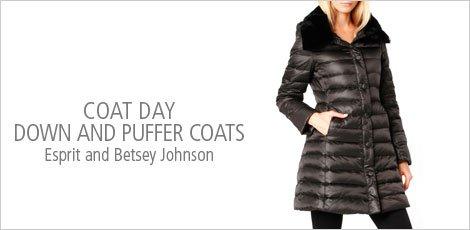 Coat Day - Down & Puffer Coats