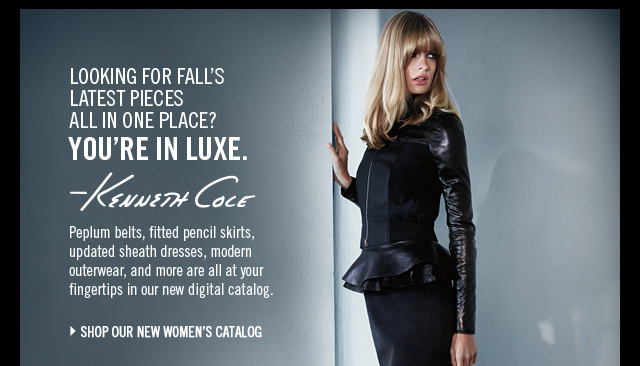 LOOKING FOR FALL'S LATEST PIECES ALL IN ONE PLACE? YOU'RE IN LUXE.