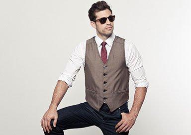 Shop The 3-Piece Set: Shirt+Vest+Tie