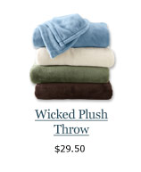 New Wicked Plush Throw, $29.50