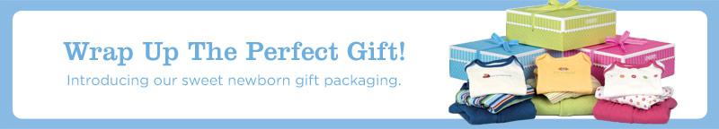 Wrap up the perfect gift! Introducing our sweet newborn gift packaging.