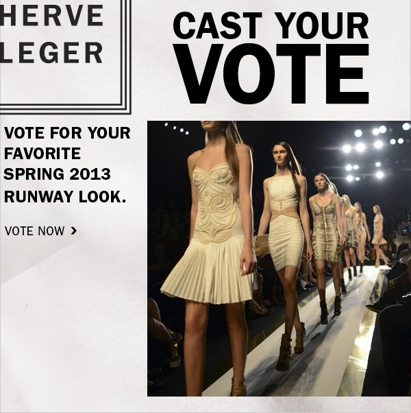 VOTE FOR YOUR FAVORITE LOOK