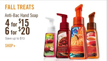 Anti-Bac Hand Soap - 4 for $15 or 6 for $20