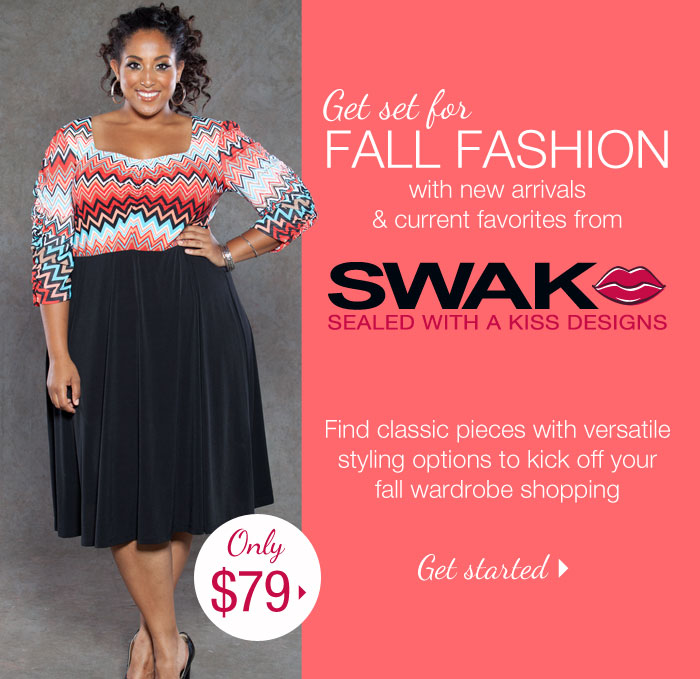 Get set for FALL FASHION
