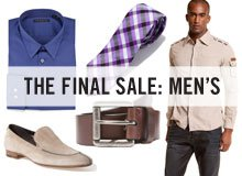 THE FINAL SALE MEN'S