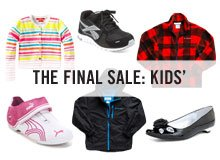THE FINAL SALE KIDS'