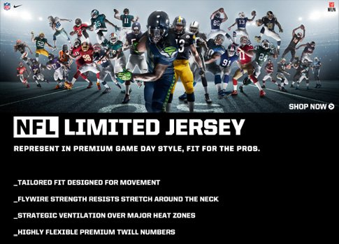 Shop NFL Limited Jerseys from Nike.