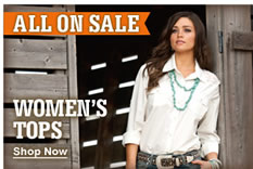 All Women's Tops on Sale