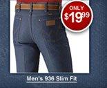 Men's Wrangler Rigid Jeans 936